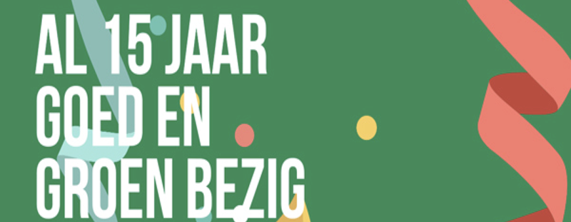 15 jaar Greenchoice